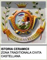 ISTORIA CERAMICII- ZONA TRADITIONALA CIVITA CASTELLANA