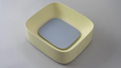 Lavoar freestanding oro platinum Moloco Artwork Kerasan Italia