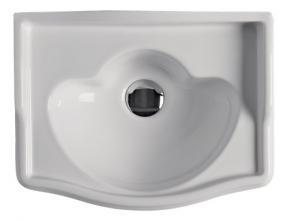 Lavoar suspendat alb 41x32cm 1033 Retro Kerasan Italia