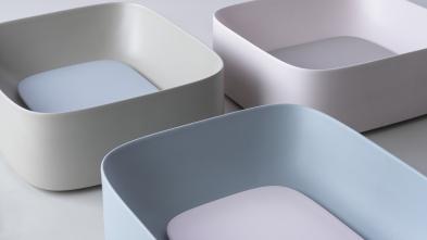 Lavoar freestanding colorat mat lucios Moloco Artwork Kerasan Italia