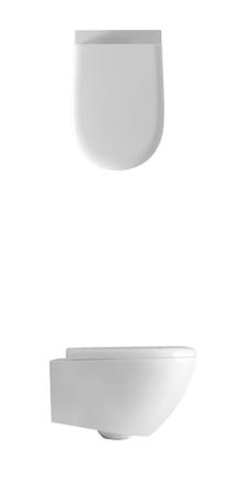 Vas wc suspendat alb 3715 Aquatech Kerasan Italia