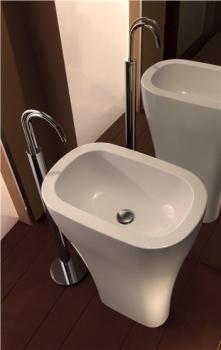 Lavoar freestanding alb 3742 Aquatech Kerasan Italia