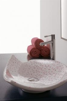 Lavoar pe blat pink decoration Kong Scarabeo Italia