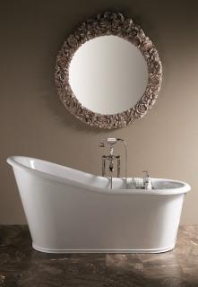 Cada baie fonta clasica alb Dakota Gaia Italia