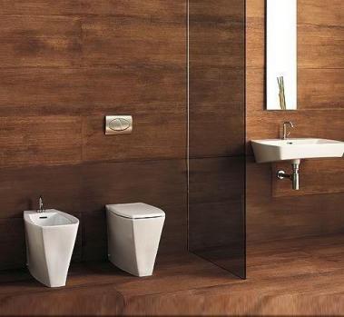 Set baie vas wc stativ +bidet stativ+capac alb Ice Vitruvit Italia