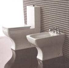 Vas wc monobloc cu capac soft close Dorian Vitruvit Italia