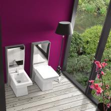 Vas WC Monobloc Ceramica Vitruvit Ever