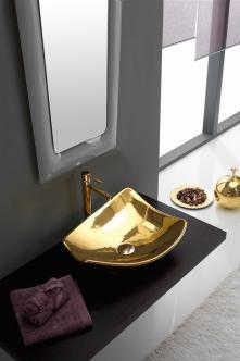 Lavoar pe blat gold luxury Kong Scarabeo Italia