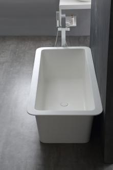 Cada baie freestanding corian solid surface Palermo