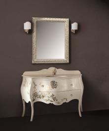 Mobilier baie Luxury Foglia Oro Ivonne Mobili Italia