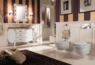 Mobilier baie Luxury Foglia Argento Antico Julien Gaia Mobili Italia