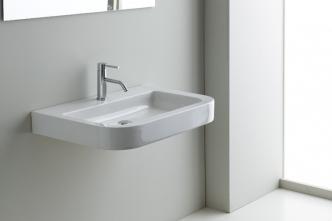 Lavoar suspendat Nero Ceramica Genesi 50/65/75 cm