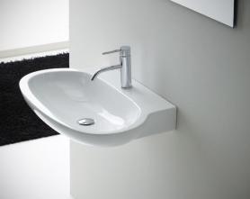 Lavoar suspendat Nero Ceramica Bianca 50/60cm