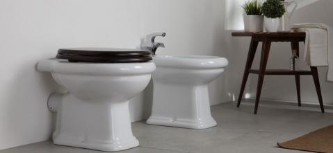 Vas WC Stativ Ceramica Esedra Mayfair