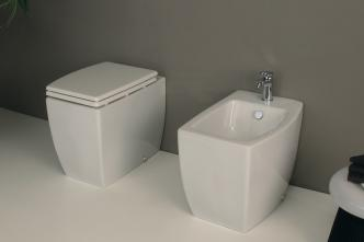 Vas wc stativ alb Olympic Vitruvit Italia