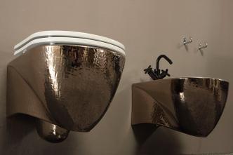 Bideu suspendat Pearl Luxury Platinum Vitruvit Italia