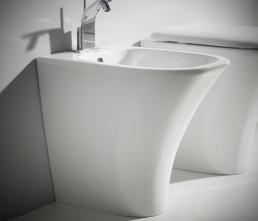 Vas wc stativ Nero Ceramica Amica