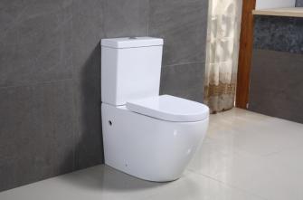 Vas wc monobloc complet alb Rondone