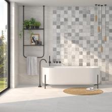 Colectia Rho ,blanco,cemento 32x99