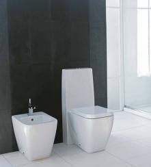Vas WC Stativ Monobloc Ceramica Esedra Quadra